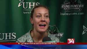 B.U. women's lacrosse team prepares for season [Video]