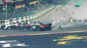 Accidente de Fernando Alonso en Bélgica [Video]