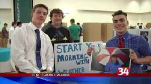 Local students pitch ideas for annual Scholastic Challenge [Video]