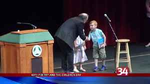 Local students take part in 40th annual Poetry Day [Video]