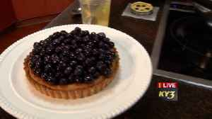 Taste of the Ozarks recipe for Blueberry brown butter tart [Video]