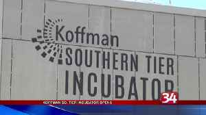 Business incubator opens in Downtown Binghamton [Video]