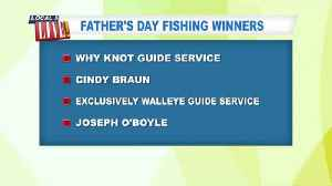 Father's Day Fishing Giveaway Winners [Video]