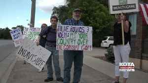 Rapid City group protests health care proposal [Video]