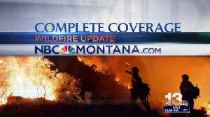 Stevensville Airport is base camp for crews fighting fires [Video]