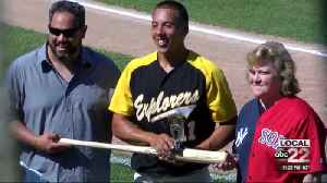 Linda Ruth is Guest of Honor at Empire Pro Home Run Derby [Video]
