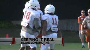 LONGHORNS FIRST PADDED PRACTICE [Video]