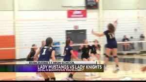High School Volleyball: Notre Dame vs City View - August 11, [Video]