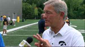 One on one with Kirk Ferentz [Video]