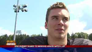 Eric Dungey named to Manning Award Watch List [Video]