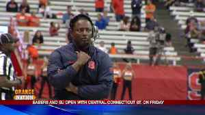 8/27 - SU talks about year number two under HC Dino Babers [Video]