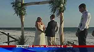 CNY natives exchange vows in Florida before Irma hits [Video]