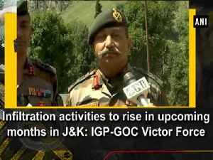 Infiltration activities to rise in upcoming months in J&K: IGP-GOC Victor Force [Video]