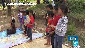 Indonesia: Volunteers bring fun to Lombok children to overcome the trauma of earthquakes [Video]