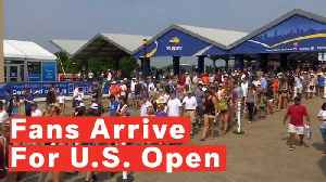 Tennis Fans Arrive For 50th U.S. Open [Video]