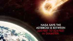 'Potentially hazardous,' 500-foot asteroid set to zoom past Earth at 20,000 mph [Video]