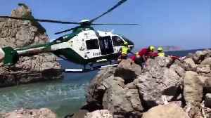 Helicopter Rescue Of 8yo Tourist In Majorca [Video]