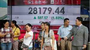 Asian Shares Up, World Stocks Hit 2-Week High [Video]
