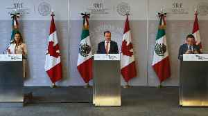 News video: Mexico Wants Trilateral NAFTA Deal