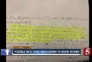 Prosecutor Considers Hate Crime In Murder Citing Racist Jailhouse Letter [Video]