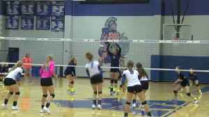 High School Volleyball: Notre Dame at Windthorst - September [Video]