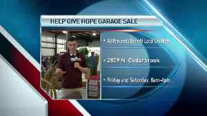 Help Give Hope Garage Sale [Video]