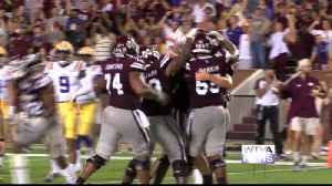 Mississippi State blows out LSU 37-7 [Video]