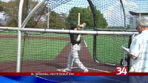 B.U. baseball hosts scout day [Video]
