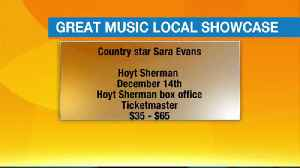 Great Music Local Showcase - September 28, 2017 [Video]