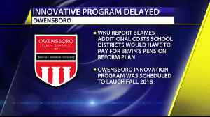 Kentucky Governor's Pension Reform May Put Owensboro Innovat [Video]