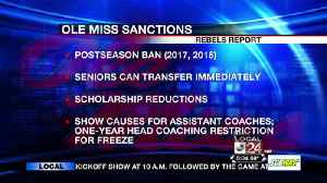 Ole Miss NCAA Sanctions [Video]