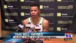 Trae Bell-Haynes returns for Cats in 81-57 win over Siena [Video]