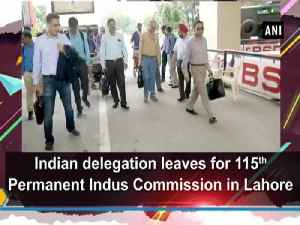 Indian delegation leaves for 115th Permanent Indus Commission in Lahore [Video]