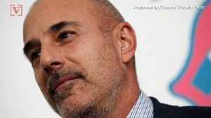 Matt Lauer Reportedly Tells Fans He Will be 'Back on TV' Soon [Video]