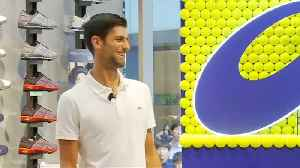 Novak Djokovic: Confident ahead of the U.S. Open tennis tournament [Video]