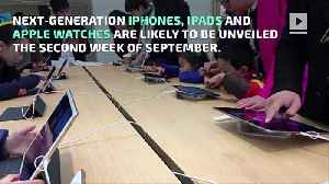 Apple to Launch New iPhones, Watches and iPads [Video]