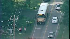 School bus crash in Amelia [Video]