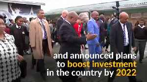 British PM dances with school children during visit to South Africa [Video]
