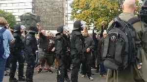 Far-Right Activists Protest for Second Day in Chemnitz, Clash With Anti-Fascists [Video]