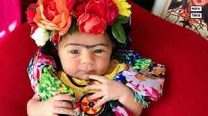 Mom Dresses Up Baby As Famous Women On Instagram [Video]