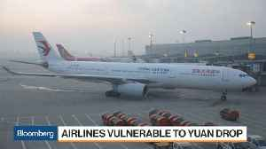 China Airlines Hit by Higher Fuel Prices, Yuan Weakness [Video]