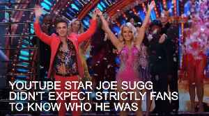 Strictly's Joe Sugg: I didn't expect people to know who I am [Video]