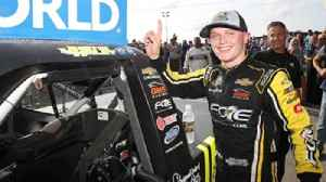 Justin Haley now has a sense of relief after winning the Truck Series playoff opener [Video]