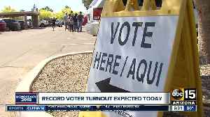 Record number of voters expected in Arizona [Video]