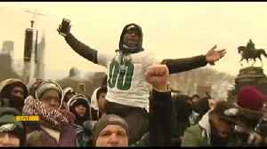 WATCH Eagles parade: Fans flock to Philadelphia [Video]