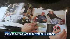 Consumer Reports: To buy or not to buy trip insurance [Video]