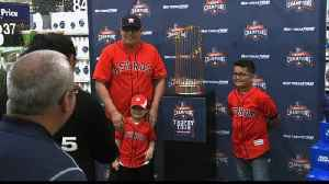 Astros Show Off World Series Trophy In RGV [Video]