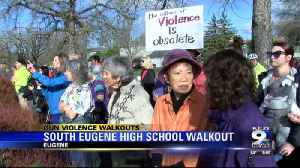Students at South Eugene High School participate in nationa [Video]