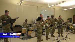 Army band performs at St. Patrick High School [Video]
