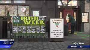 St. Patrick's Day celebrations, Gonzaga games expected to dr [Video]